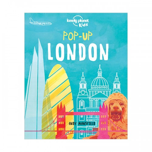 Lonely Planet Kids : Pop-up London (Board book)
