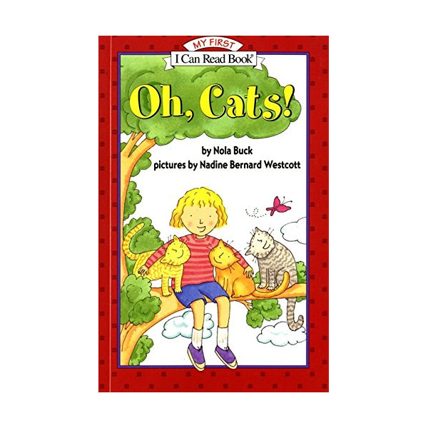 I Can Read My First : Oh, Cats! (Paperback)