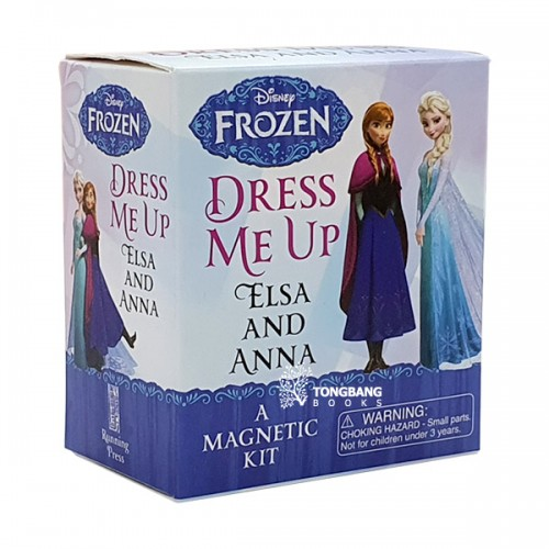 ★키즈코믹콘★Frozen : Dress Me Up Elsa and Anna : A Magnetic Kit (Toy)