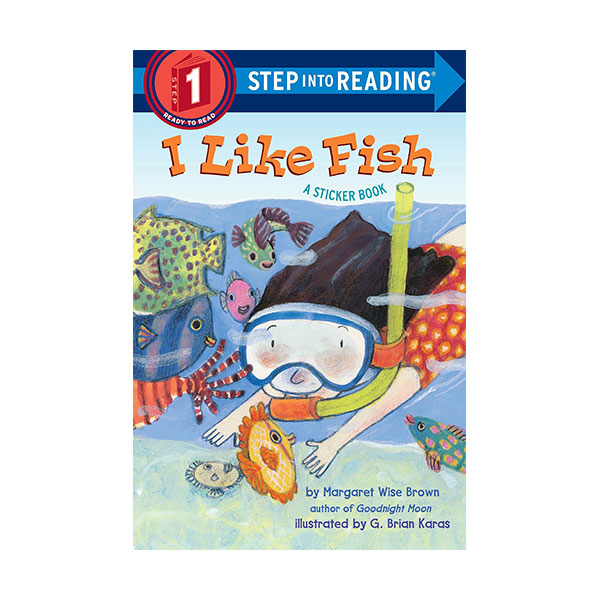 [★LOVE★] Step Into Reading 1단계 : I Like Fish (Paperback)