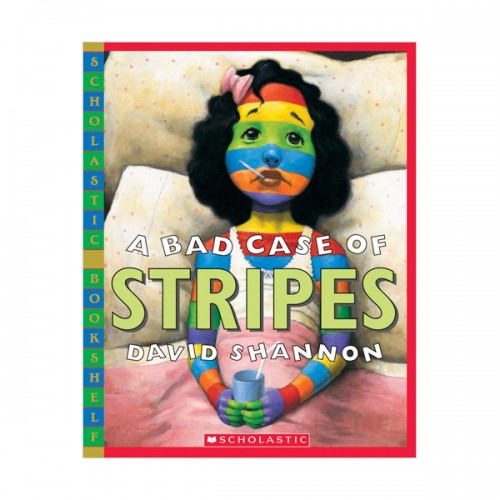 [스콜라스틱] A Bad Case of Stripes (Paperback)