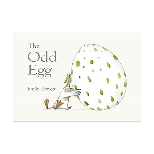 The Odd Egg : Emily Gravett (Paperback, 영국판)