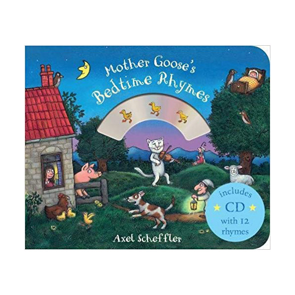 Mother Goose's Bedtime Rhymes (Book & CD, 영국판)
