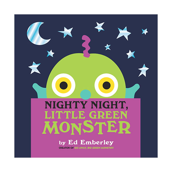 Nighty Night, Little Green Monster (Hardcover)