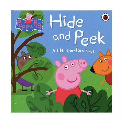 ★키즈코믹콘★Peppa Pig : Hide and Peek : A Lift-the-Flap Book (Board book, 영국판)