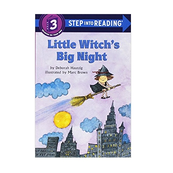 Step into Reading 3 : Little Witch's Big Night (Paperback)