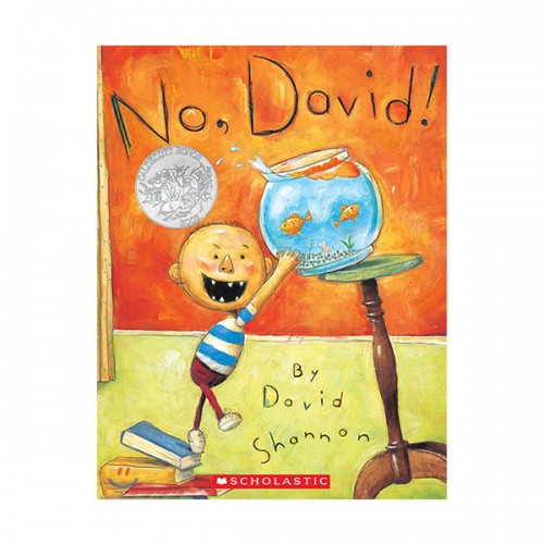 [스콜라스틱] No, David! : A Diaper David Book (Paperback)