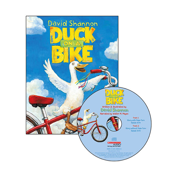 Scholastic Read Along Book & CD : Duck on a Bike (Paperback+CD)