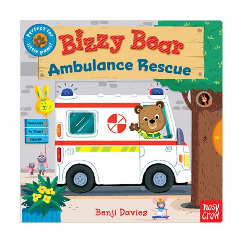 Bizzy Bear : Ambulance Rescue (Board book)