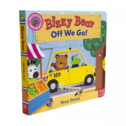 Bizzy Bear : Off We Go! (Board book)