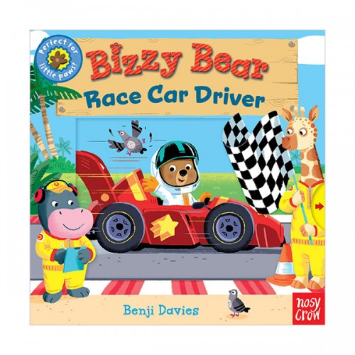 Bizzy Bear : Race Car Driver (Board book)