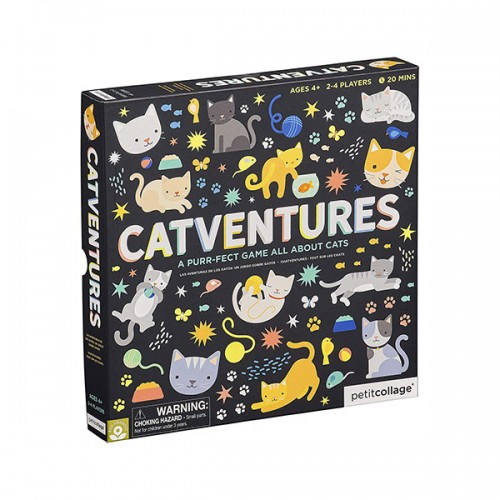 Petit Collage Catventures Board Game