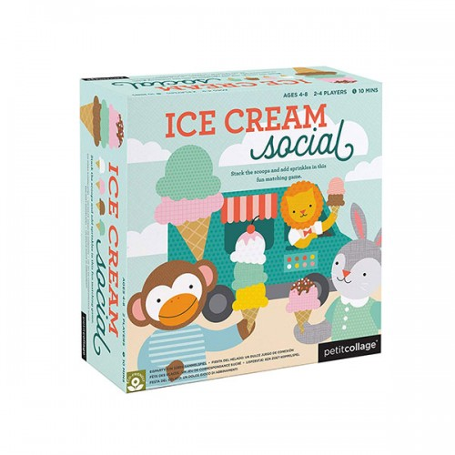 Petit Collage Ice Cream Social Board Game