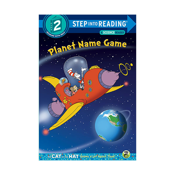 Step Into Reading 2단계 - A Science Reader : Dr. Seuss The Cat in the Hat : Planet Name Game (Paperback)