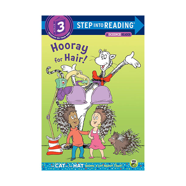 Step into Reading 3단계 - A Science Reader : Dr. Seuss the Cat in the Hat : Hooray for Hair! (Paperback)