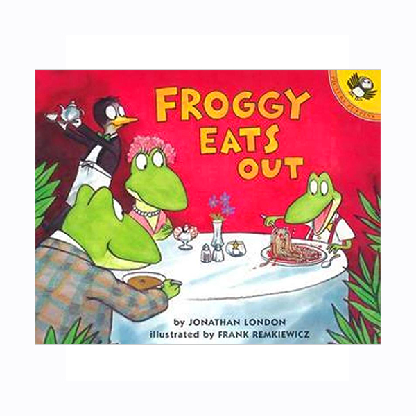 Froggy Eats Out (Paperback)