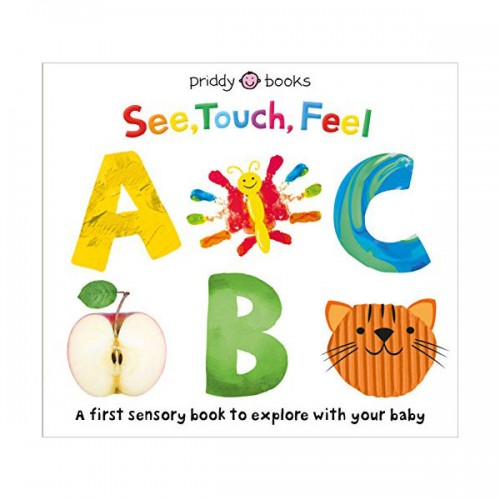 See, Touch, Feel : ABC (Board book)