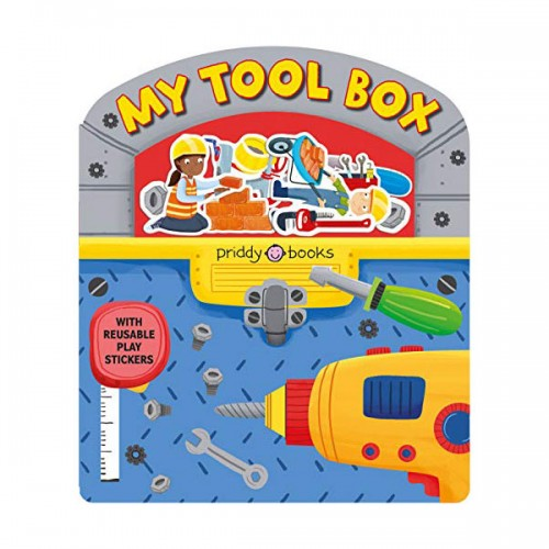 Stick and Play : My Toolbox (Board book)