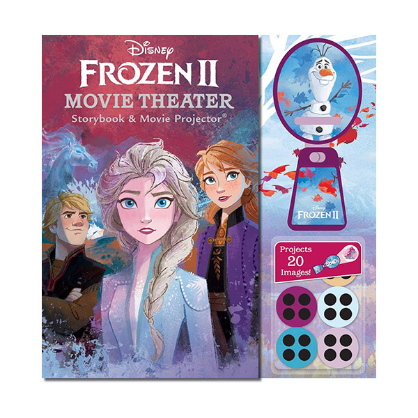 Disney Frozen 2 : Movie Theater Storybook & Movie Projector (Hardcover)