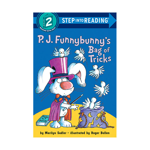 Step Into Reading Step 2 : P.J. Funnybunny's Bag of Tricks (Paperback)