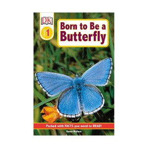 DK Readers Level 1 : Born to Be a Butterfly (Paperback)