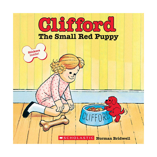 [스콜라스틱] Clifford The Small Red Puppy (Paperback)