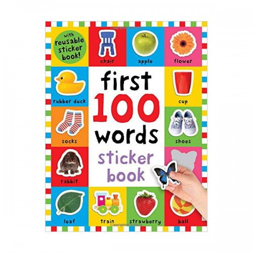 First 100 Words Sticker Book (Paperback)