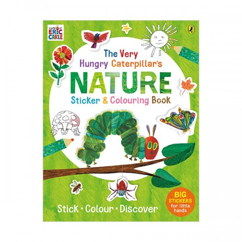 The Very Hungry Caterpillar's Nature Sticker and Colouring Book (Paperback, 영국판)