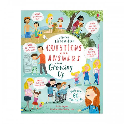 Lift-the-Flap Questions & Answers about Growing Up (Board book, 영국판)