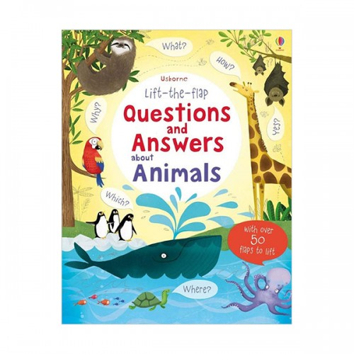 Lift the Flap Questions & Answers about Animals  (Hardcover, 영국판)