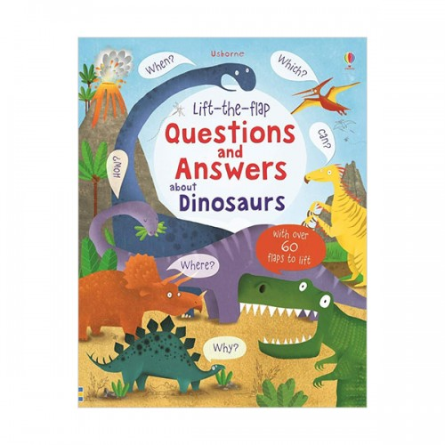 Lift-the-flap Questions and Answers about Dinosaurs (Hardcover, 영국판)