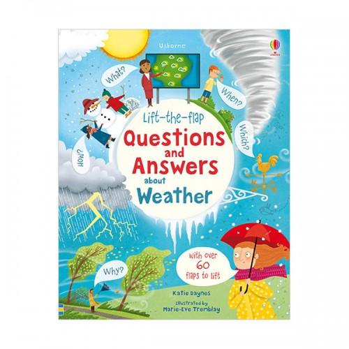 Lift-the-Flap Questions and Answers Weather (Board book, 영국판)