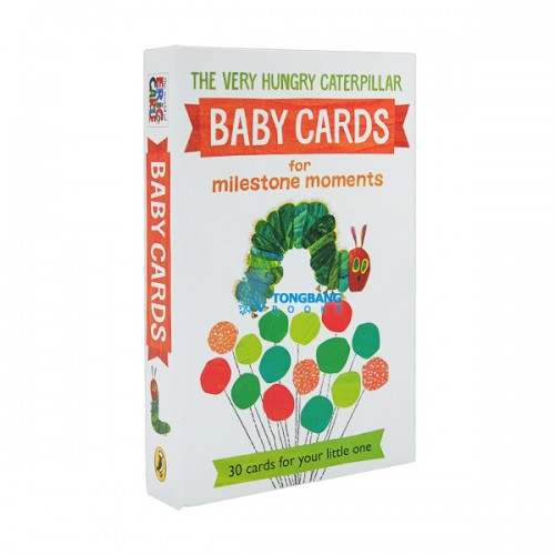 Very Hungry Caterpillar Baby Cards for Milestone Moments (Cards, 영국판)