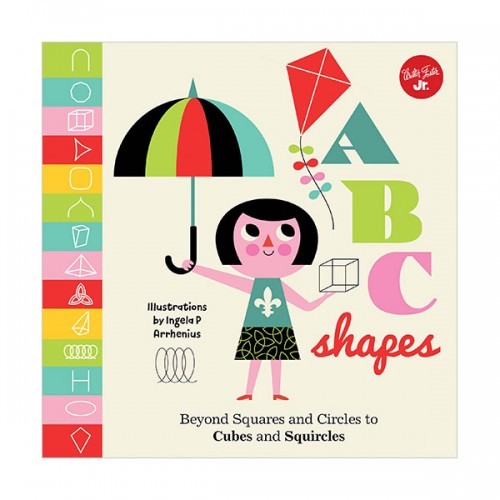 Little Concepts : ABC Shapes (Board book, 영국판)