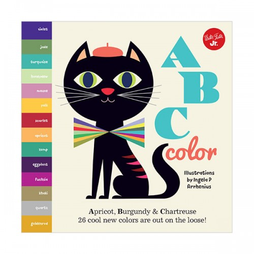 Little Concepts : ABC Color (Board book, 영국판)