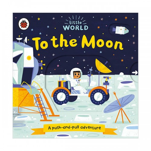 Little World : To the Moon (Board book, 영국판)