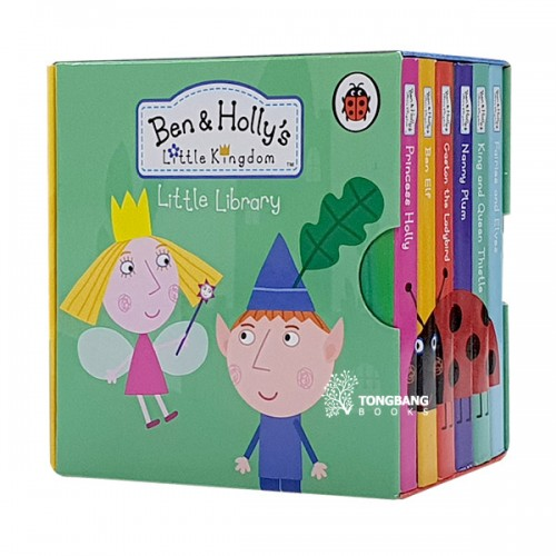 Ben and Holly's Little Kingdom : Little Library (Board book, 6종, 영국판) (CD미포함)
