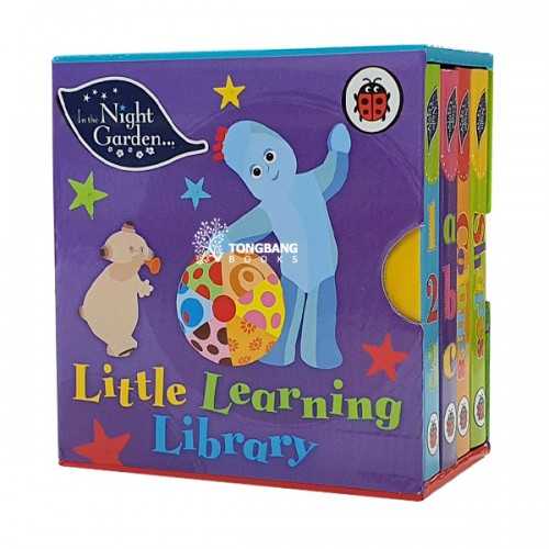 In the Night Garden : Little Learning Library (Board book, 4종, 영국판) (CD미포함)