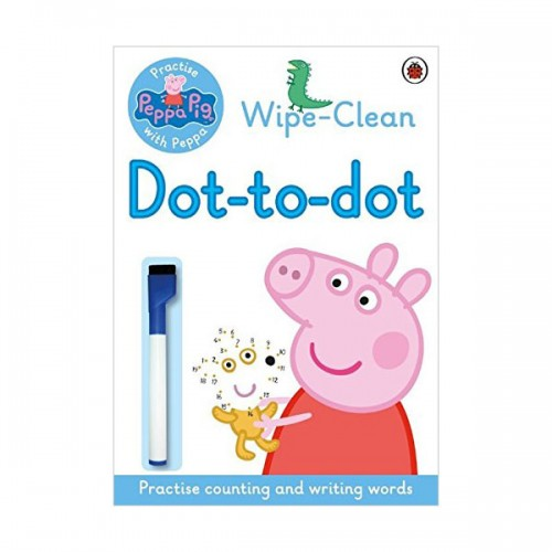 ★사은품증정★Practise with Peppa: Wipe-clean Dot-to-Dot (Paperback, 영국판)