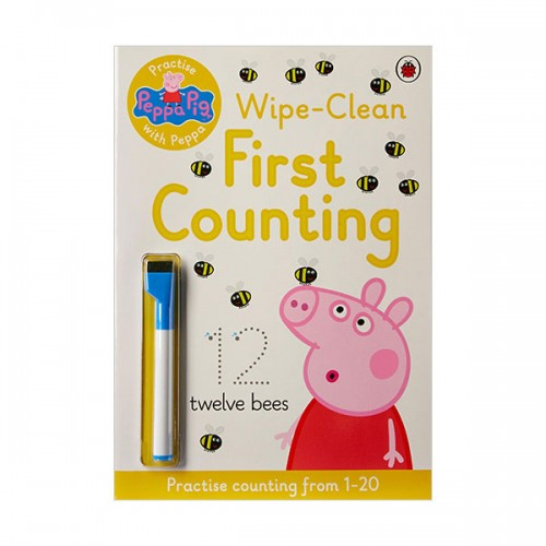 ★키즈코믹콘★Practise with Peppa: Wipe-Clean Counting (Paperback, 영국판)