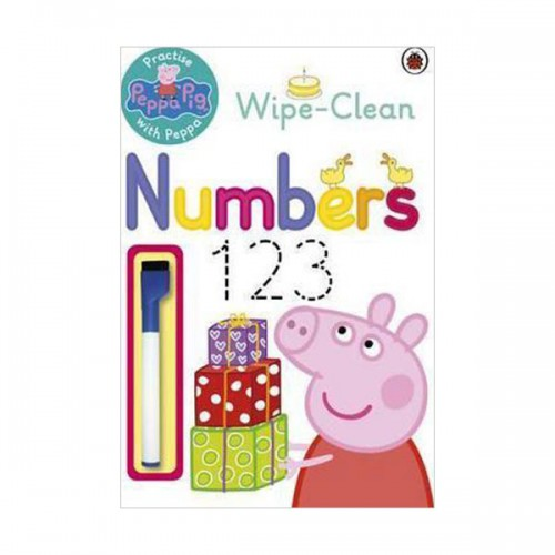★사은품증정★Practise with Peppa: Wipe-Clean First Numbers (Paperback, 영국판)