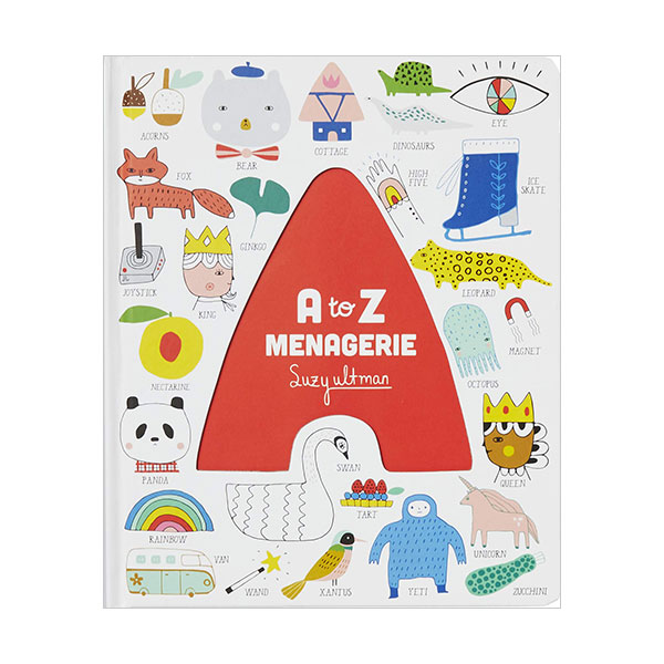 A to Z Menagerie (Board book)