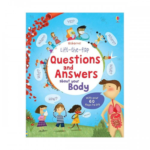 Lift-the-flap Questions and Answers about Your Body (Board book, 영국판)