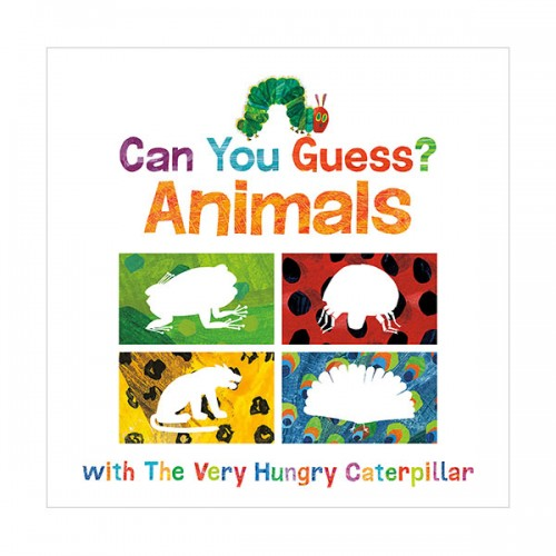[에릭칼] Can You Guess? : Animals with The Very Hungry Caterpillar (Board book)