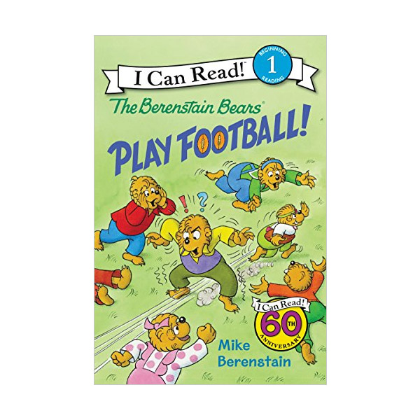 I Can Read Level 1 : The Berenstain Bears Play Football! (Paperback)