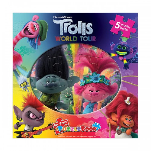 DreamWorks Trolls 2 : My First Puzzle Book (Board Book)