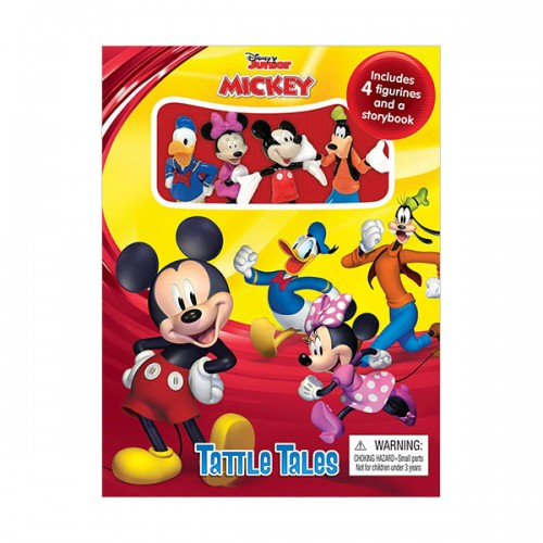 Disney Junior Mickey Tattle Tales (Board Book)