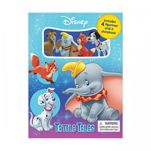 Disney Animals Tattle Tales (Board Book)