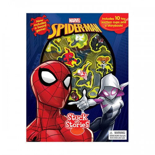 Marvel Spider-Man : Stuck on Stories (Board Book)
