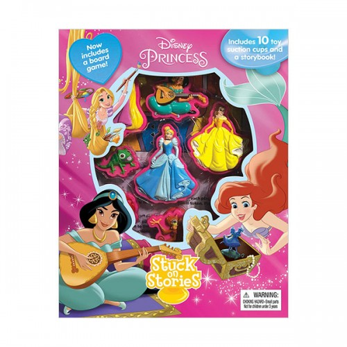 Disney Princess : Stuck on Stories (Board Book)